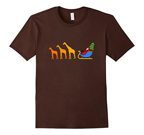 Mens Funny African Safari Christmas Shirt   Cute Giraffe T-Shirt XL - Cheetah Girl Costume Ideas