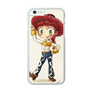 iPhone 6 White Cell Phone Case Disneys Toy Story - Jessie KVCZLW2404 Phone Case Cover For Men Custom