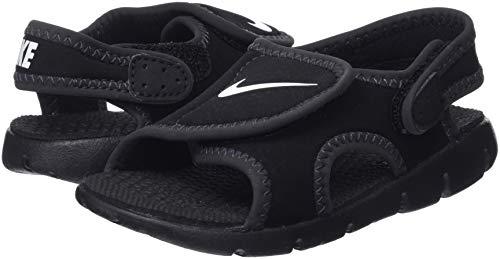 2721a475b Nike Boy s Sunray Adjust 4 (TD) Toddler Sandal Black Anthracite White Size