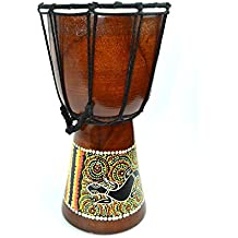 "Djembe Drum- African Percussion Drum, Bongo Hand Drum Professional Sound (9"")"