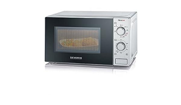 Severin MW 7896 - Microondas de 700 W, con función grill 2 en 1 de ...