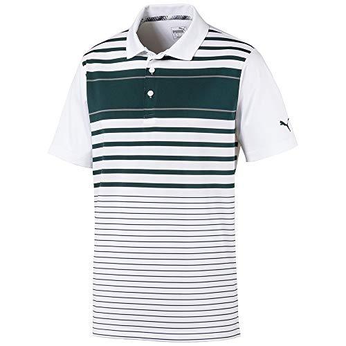 Puma Golf 2019 Men's Spotlight Polo, PONDEROSA PINE-QUIET SHADE, Large