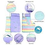 Toddler-Nap-Mats-for-Preschool-Kinder-Daycare-Blanket-Pillow-for-Boys-or-Girls-Foldable-Comfy-Cover-Unicorn