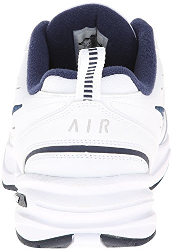 403 NIKE 654275 Run Silver Unisex White Navy Gs Trainers Kids Huarache YgYwrq