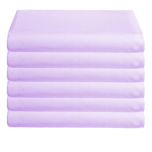 Babydoll Bedding 6 Piece Daycare Sheets, Lavender, 18'' x 36'' by BabyDoll Bedding