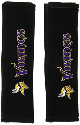 Fremont Die NFL Minnesota Vikings Seat Belt Pad (Pack of 2) ()
