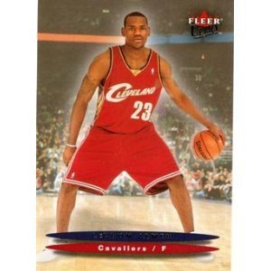 2003 ULTRA Lebron James Rookie Karte von 2003 ULTRA Lebron James Fleer Rookie Karte