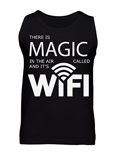 There Is Magic In The Air And It Is Called Wifi Men's Tank Top