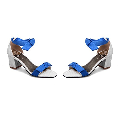 Urethane Dress Baguette Toggle Sandals MJS03209 Womens 1TO9 Style Blue 1B7XXw