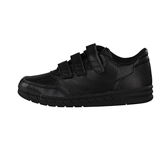 adidas Unisex-Kinder AltaSport CF Sneaker Schwarz (Core Black/core Black/ftwr White)