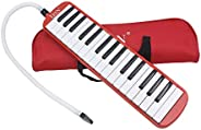 Andoer® 32 Piano Keys Melodica Musical Instrument for Music Lovers Beginners Gift with Carrying Bag