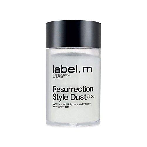 Label.M White Resurrection Style Dust (3.5G) (Pack of 6) - .白復活スタイルの塵(3.5グラム) x6 [並行輸入品] B071NHDLSF