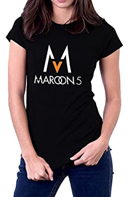 Maroon 5 Five V Band Logo Women's T-Shirt