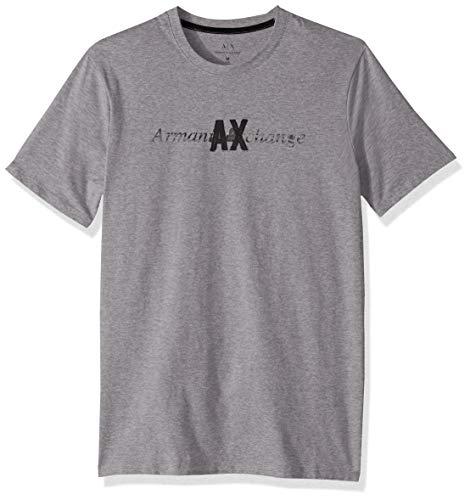 AX Armani Exchange Men's Short Sleeve Crew Neck Logo T-Shirt