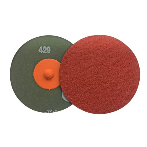 VSM 3'' Quick Change Resin Fiber Disc, 60 Grit, XF885 Ceramic+, Quick Change Type R, Fiber Backing, Pack of 25 by VSM