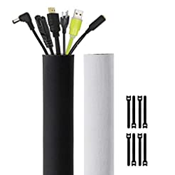 Kootek 118-Inch Cable Management Sleeves...