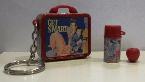 Basic Fun Vintage Lunch Box Keychains--Get -