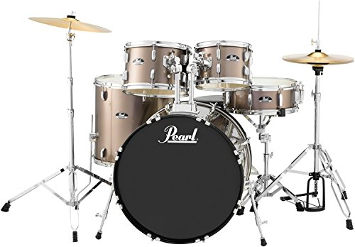 Pearl Drum Set, Red Wine, 5 Piece (RS525SC/C707)