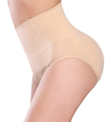 fec0c26aa24 NINGMI Womens Butt Lifter Padded Shapewear Enhancer Control Panties Brief  Underwear