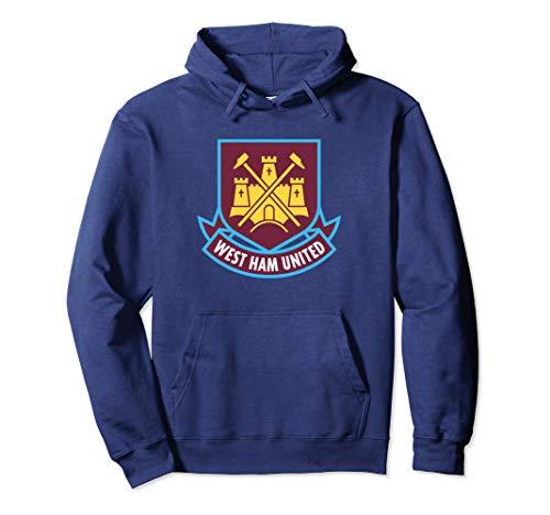 West Ham United Color Castle Pullover Hoodie (West Ham Hoodie)