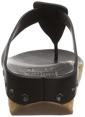 Mujer Negro Sandalias Ibiza black Cork 001 Fitflop wx4RqtEx