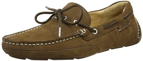 brown Kedge Sebago Mocassins Homme Marron Nubuck Tie fSw6qwv