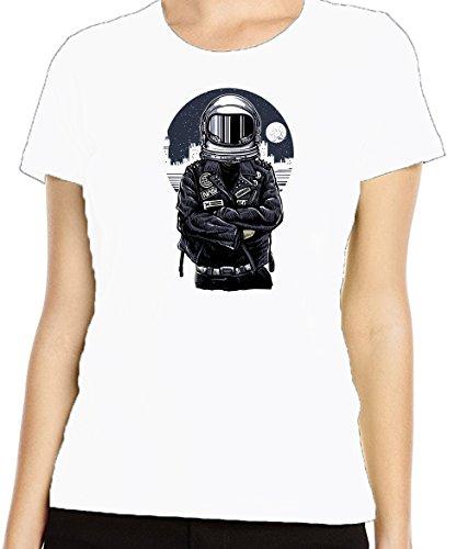 Renowned - Camiseta - para mujer blanco