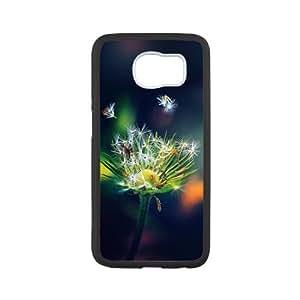 Samsung Galaxy S6 Case,Dandelion Seeds Tpu Back Cover Case,Ultra Slim Cover Case,Scratchproof Dustproof Anti-Slip