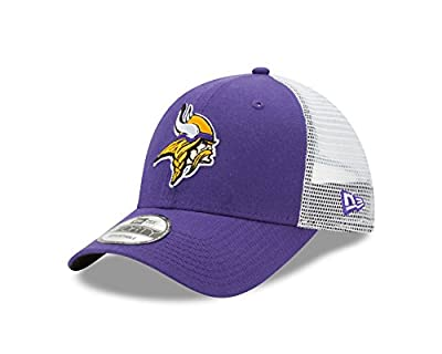 Minnesota Vikings Trucker Duel New Era 9FORTY Adjustable Snapback Hat / Cap