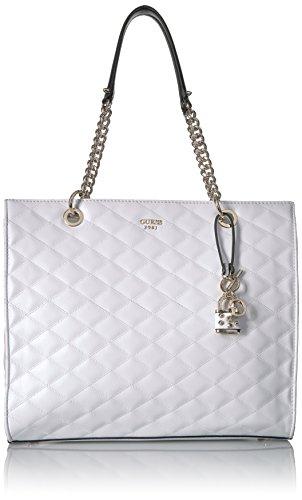 GUESS Penelope Shopper, White