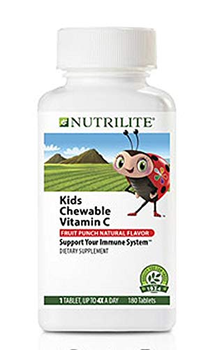 Nutrilite Kids Chewable Vitamin C - Support Immune System - 180 Tablets
