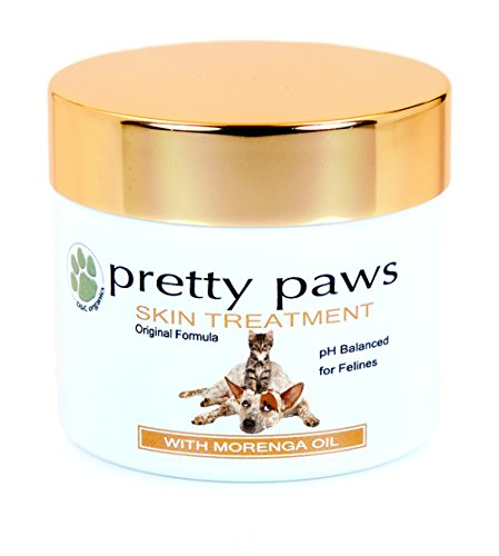 Cruelty Free Pretty Paws Concentrated Skin Relief for Cats - Antiseptic, Antifungal Treatment for Rashes, Pad Disorders, Dry Itchy Skin, Hot Spots & Bitten or Allergic Damaged Skin, Vet Approved