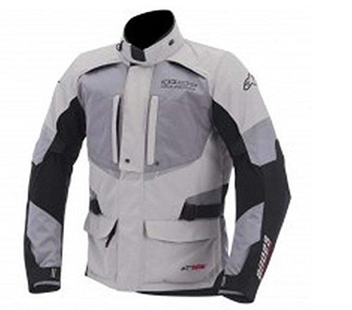 Alpinestars Andes Drystar Jacket, Gender: Mens/Unisex, Primary Color: Gray, Size: Lg, Apparel Material: Textile, Distinct Name: Gray/Gray/Black 3207512-107-L