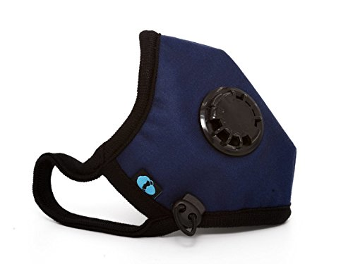 Cambridge Mask Co Pro Anti Pollution N99 Washable Military Grade Respirator with Adjustable Straps - Admiral M (Odour Mask)