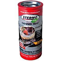 Sterno 20230 20602 Canned Fuel, 2.6 Ounces