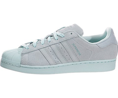 adidas Originals Men's Superstar RT Fashion Sneaker, Clear Aqua/Clear Aqua/Clear Aqua, 10 M US (Star Adidas Mens Triple)