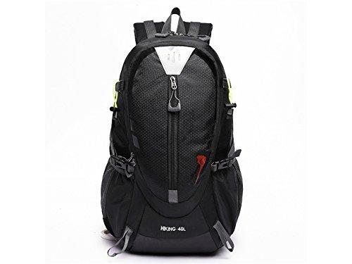 ハイキングスポーツアウトドア旅行バックパック登山バッグハイキングバックパック(ブラック) forアウトドア旅行   B07FF4695S