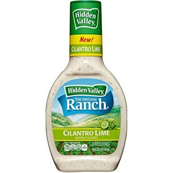 Hidden Valley The Original Ranch Cilantro Lime Dressing, 16 fl oz ( 2 pack )