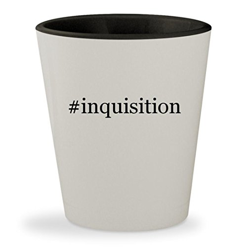 Price comparison product image #inquisition - Hashtag White Outer & Black Inner Ceramic 1.5oz Shot Glass