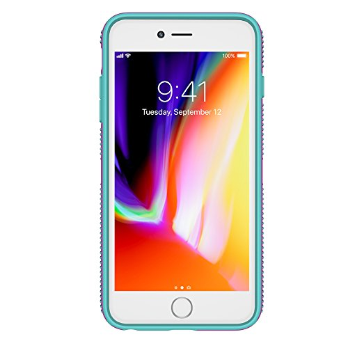 Speck Products CandyShell Grip Cell Phone Case for iPhone 8 Plus/7 Plus/6S Plus/6 Plus - Beaming Orchid/Mykonos Blue