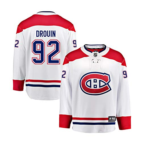 (VF Hockey Jersey Kids Montreal Canadiens Drouin NHL Jersey for Senior Youth)