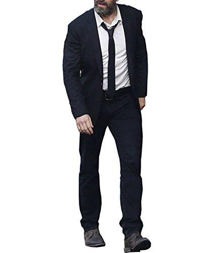 Xmen Suit (X-Men Logan Hugh Jackman Wolverine Black Suit)