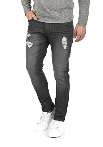 Dark Moy Slim 9650 Extensible solid Coupe Jean Pantalon Grey Homme Denim TqxOP7n