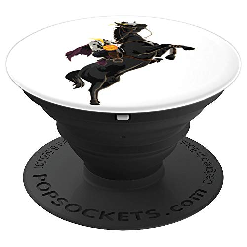 Halloween Sleepy Hollow Headless Horseman - PopSockets Grip and Stand for Phones and -