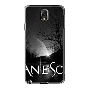 DannyLCHEUNG Samsung Galaxy Note3 Scratch Resistant Hard Cell-phone Case Unique Design Colorful Evanescence Band Pattern [VPn15416szjW]