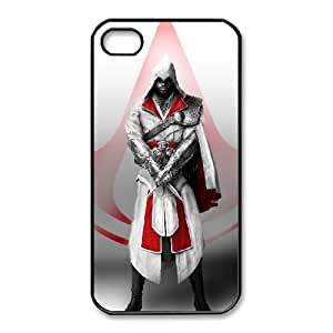 iphone4 4s Black phone case Assassins Creed Artell Fashion players preferred OKE9193710