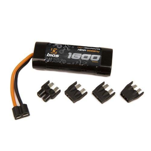 Bias NiMH Battery for Traxxas 1/16 E-Revo 7.2V 1600mAh 2/3A NiMH w UNI Plug