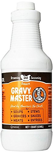 Organic Food Bar Organic Brown Rice (Gravy Master Browning and Seasoning Sauce 32 Oz. (2 Pack))