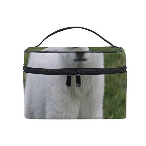 - Travel Cosmetic Bag White Polar Bear Cute Toiletry Makeup Bag Pouch Tote Case Organizer Storage For Women Girls