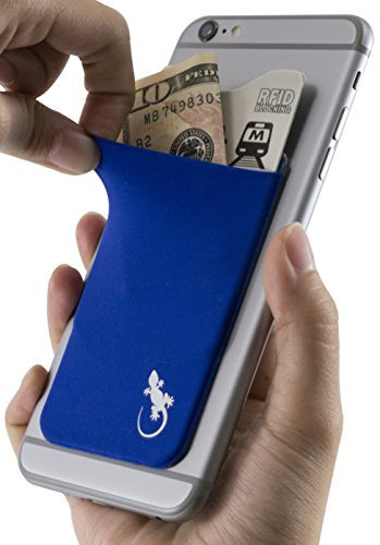 slim-cell-phone-wallet-universal-credit-card-holder-in-blue-by-gecko-in-blue